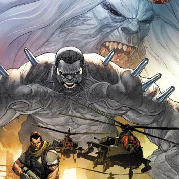 Weapon H #1 cover by Leinil Francis Yu and Romulo Fajardo Jr.