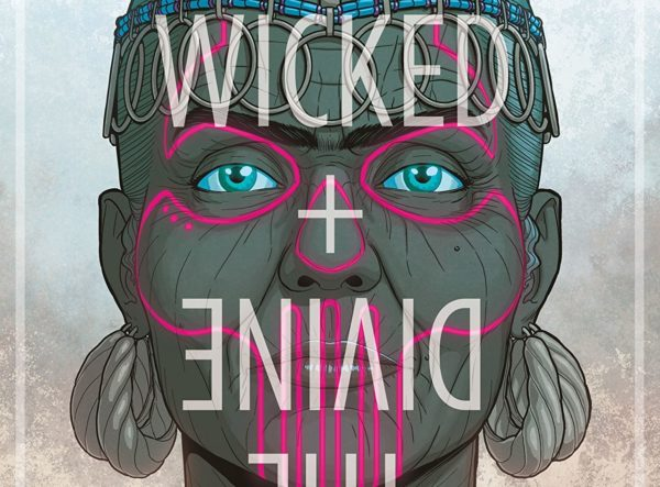 Wicked + Divine #34 cover by Jamie McKelvie and Matthew Wilson