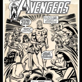 avengers Comic Connect auction