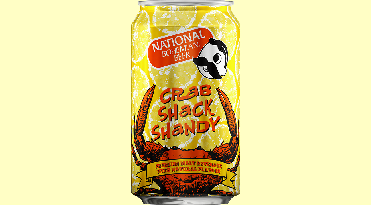 Image result for national bohemian crab shack shandy