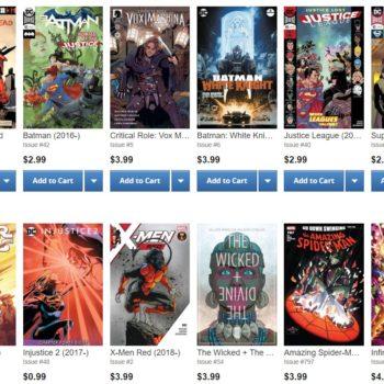 ComiXology Bestseller List 03/09/18