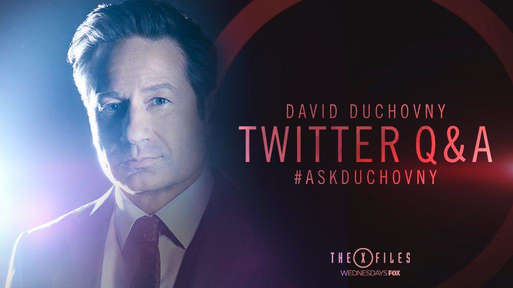 David Duchovny Doing T...