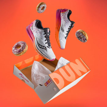 dunkin donuts shoes saucony