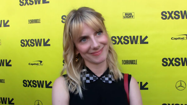 Mélanie Laurent at SXSW 2018 on the red carpet for Galveston
