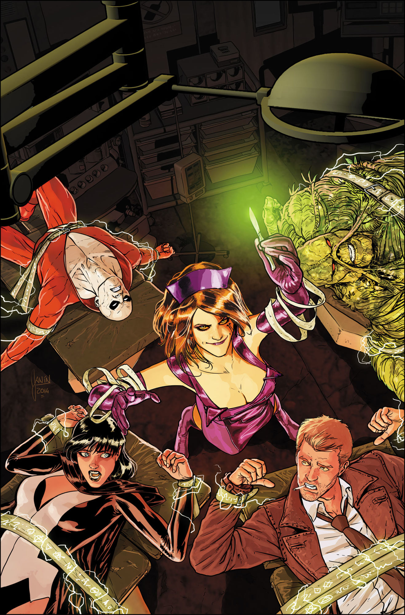 Constantine City of Demons: Who is the Nightmare Nurse?