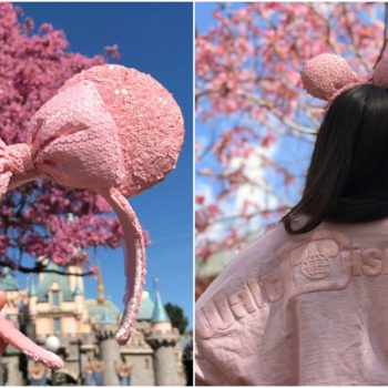 Millennial Pink mickey ears disney