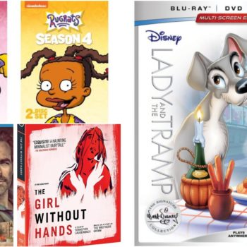 february 2018 dvd/blu-ray lady and the tramp