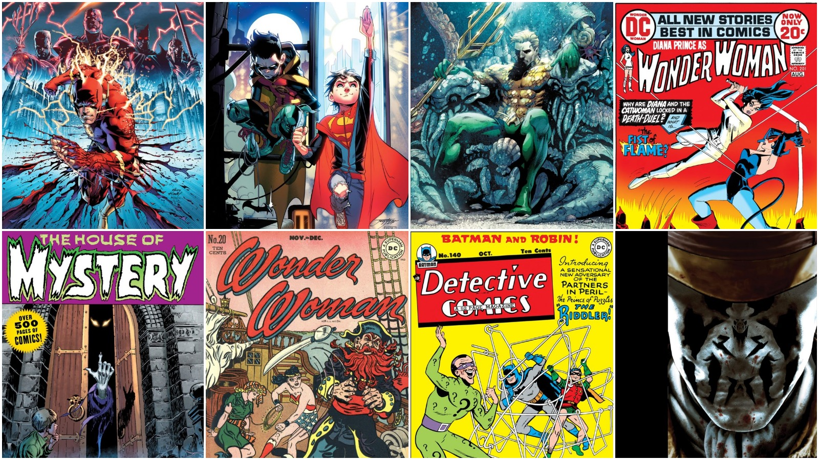8 More DC Absolute/Omnibus Books, from Flashpoint to Before