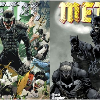 Dark Knights: Metal #6 covers