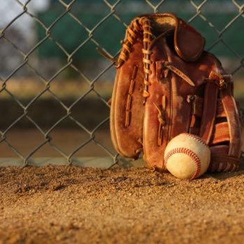 Baseball and Baseball Glove -- David Lee/Shutterstock.com