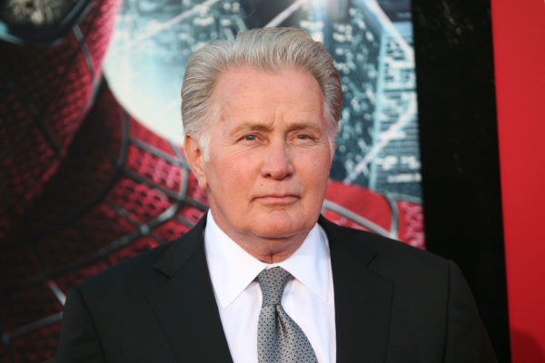 Westwood, CA, USA; June 28, 2012; Martin Sheen arriving to the premiere of 'The Amazing Spiderman'.