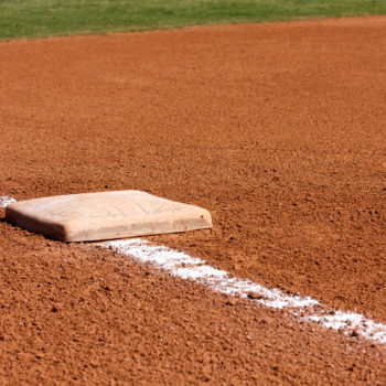 Baseball Diamond Third Base -- David Lee/Shutterstock.com