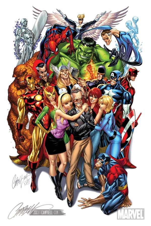 J. Scott Campbell stan lee