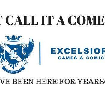 Excelsior Comics comeback