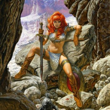 Joe Jusko red sonja art