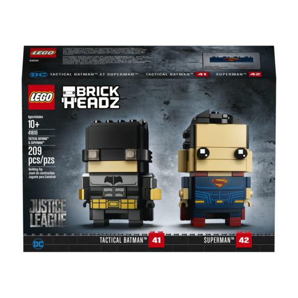 LEGO Brickheadz batman superman