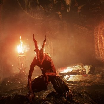 Agony key art