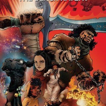 Antar the Black Knight #1 cover by Eric Battle and Jason Scott Jones