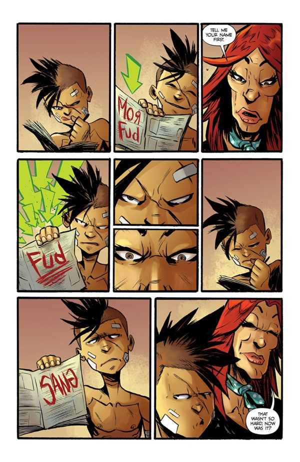 The Ballad of Sang #2 art by Alessandro Micelli and Shari Chankhamma