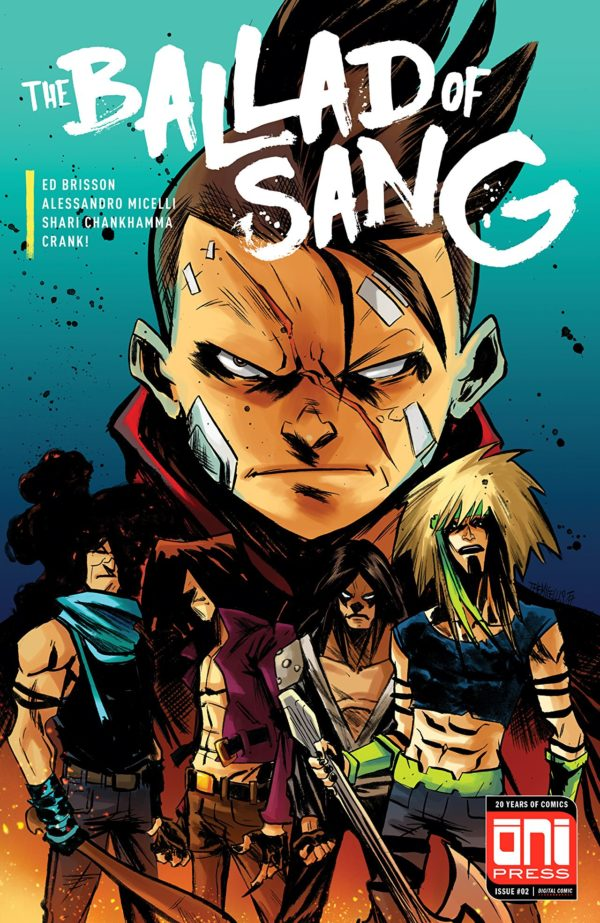 The Ballad of Sang #2 cover by Alessandro Micelli and Shari Chankhamma