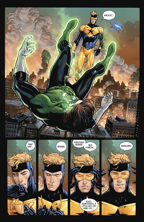 Batman #45 art by Tony Daniel, John Livesay, and Tomeu Morey