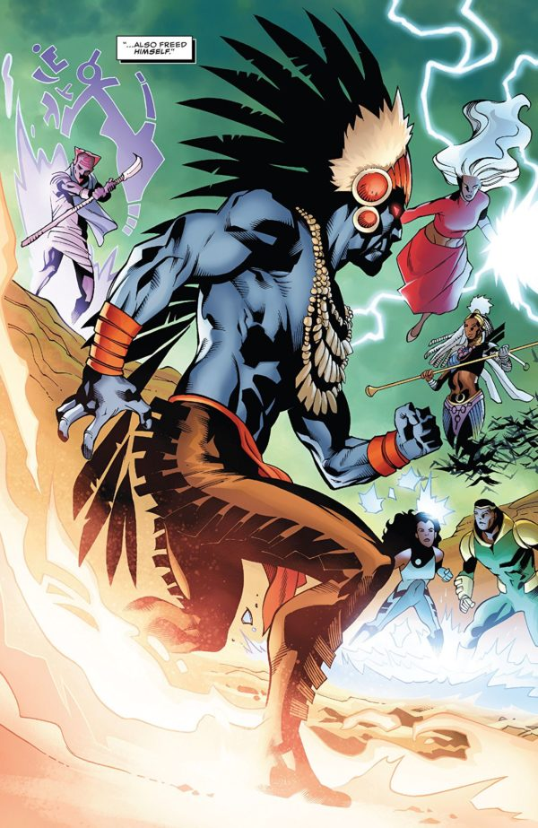 Black Panther #172 art by Leonard Kirk, Marc Deering, Walden Wong, and Laura Martin