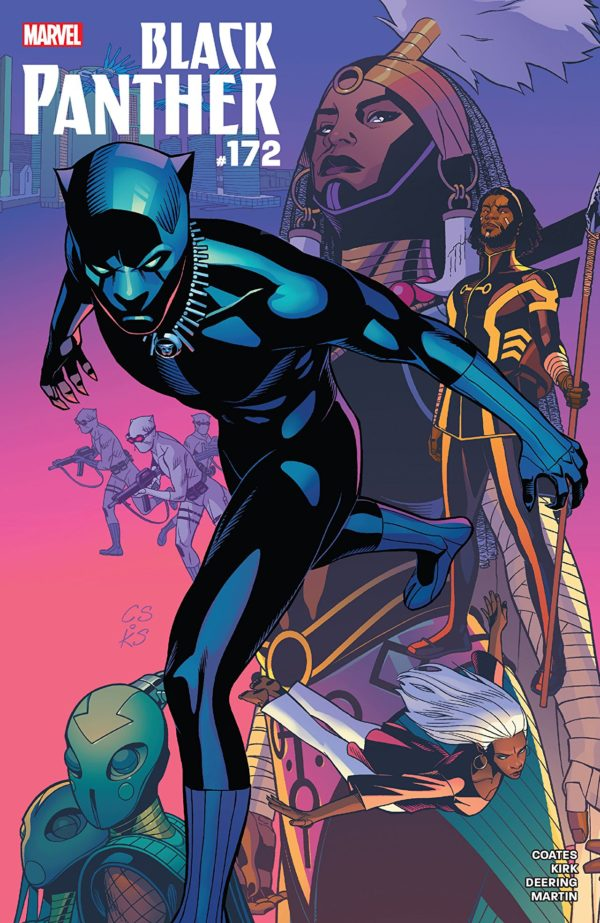 Black Panther #172 cover by Chris Sprouse, Karl Story, and Matt Milla