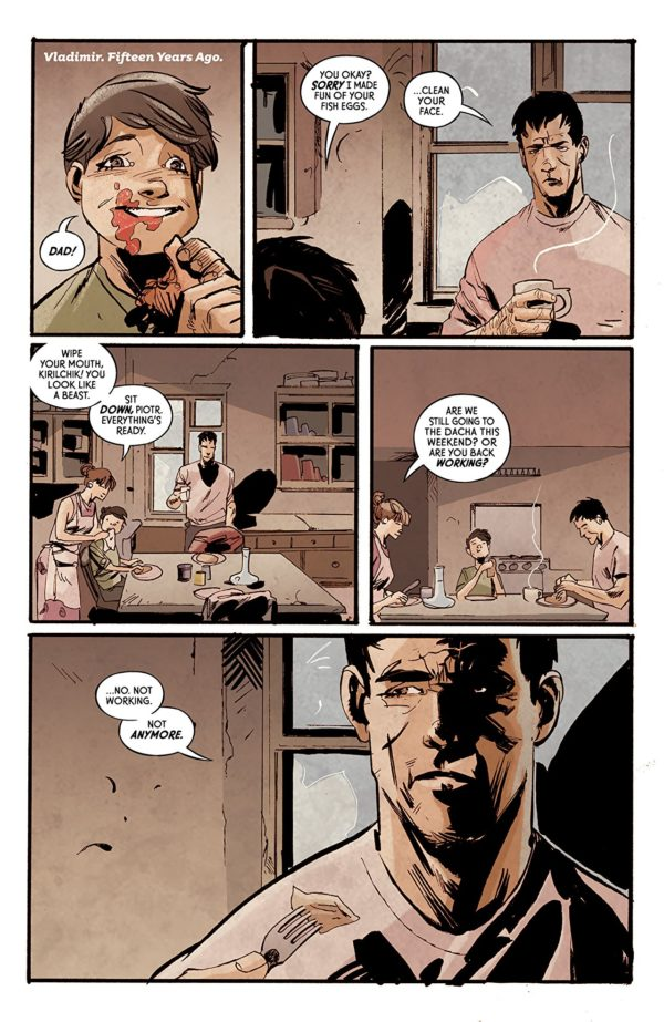 Crude #1 art by Garry Brown and Lee Loughridge