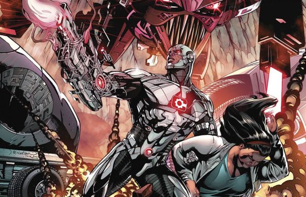 Cyborg #21 cover by Dale Eaglesham and Ivan Nunes