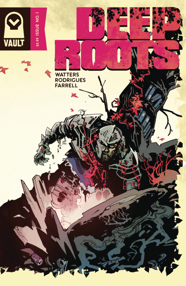 Deep Roots #1 cover by Val Rodrigues