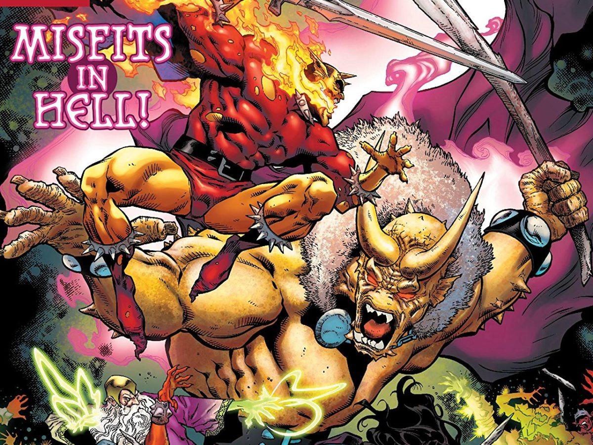 DEMON HELL IS EARTH TPB REPS #1-6 DC COMICS NEW//UNREAD