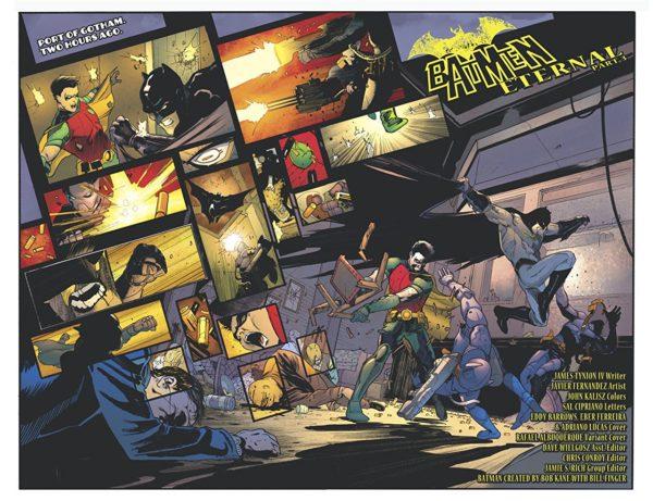 Batman: Detective Comics #978 art by Javier Fernandez and John Kalisz