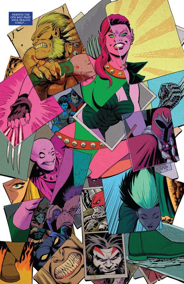 Exiles #1 art by Javier Rodriguez and Alvaro Lopez