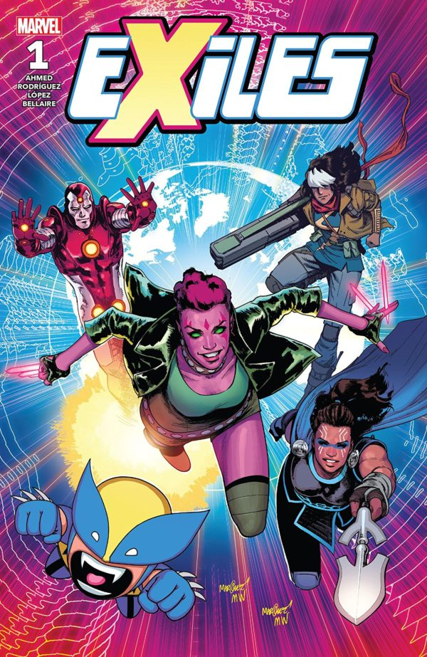 Exiles #1 cover by David Marquez