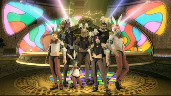 Feminist Win? Final Fantasy XIV's Bunny Costumes Coming for Male