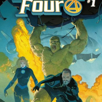 fantastic four #1 Exclusive Retailer Cover option