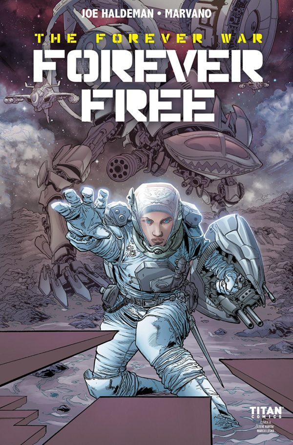 Forever Free #1 cover by Steve Kurth and Marco Lesko