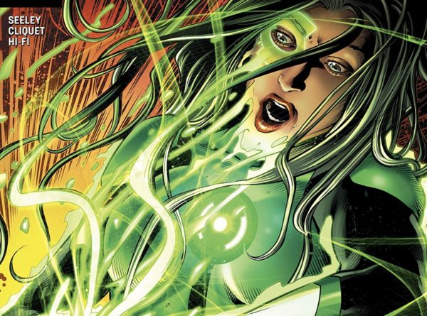 Green Lanterns #44 cover by Will Conrad and Ivan Nunes