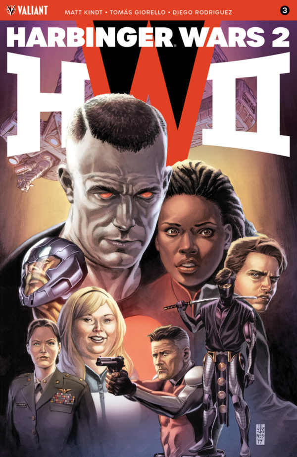 harbinger wars 2 cover, Valiant Entertainment July 2018 Solicits