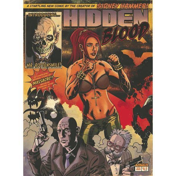 Hidden Blood #1 cover by Massacre