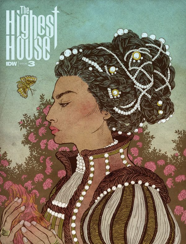 Highest House #3 cover by Yuko Shimizu
