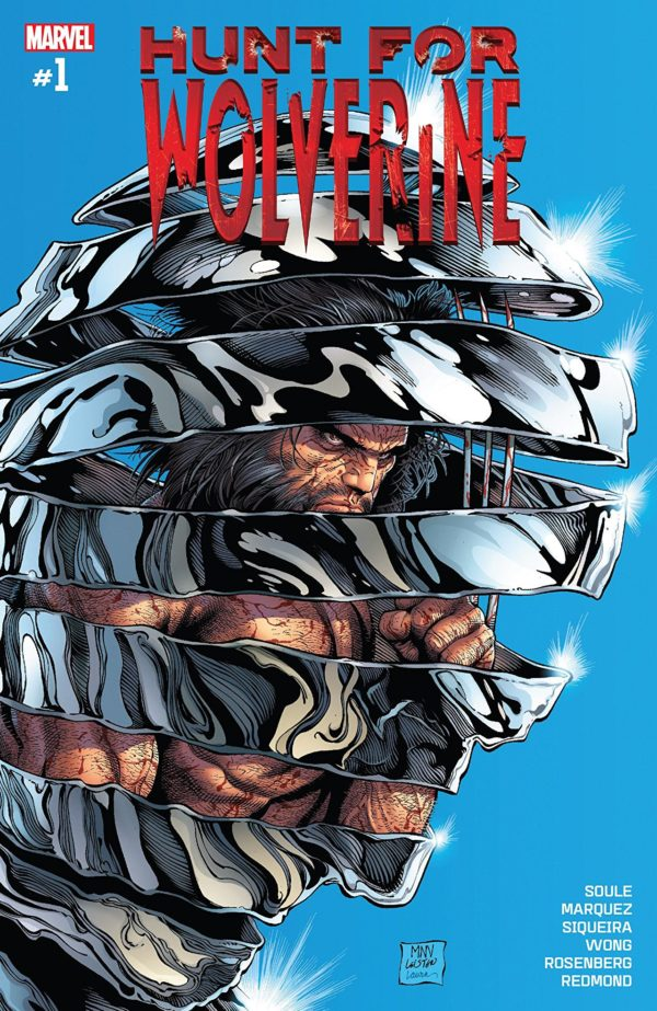 Hunt for Wolverine #1 cover by Steve McNiven, Jay Leisten, and Laura Martin