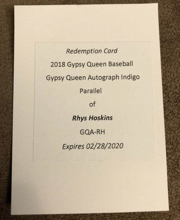 2018 Topps Gypsy Queen 11