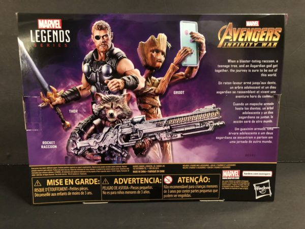 Marvel Legends Infinity War TRU Exclusive Three Pack 2