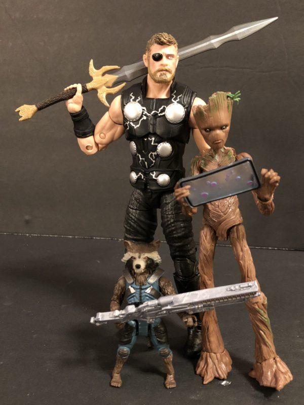 Marvel Legends Infinity War TRU Exclusive Three Pack 3