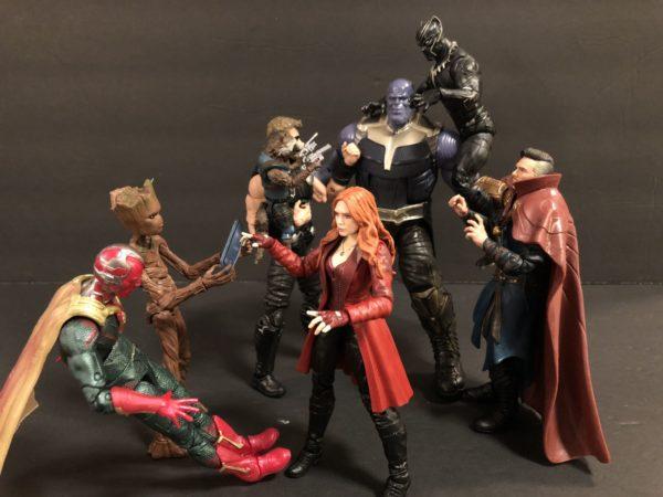 Marvel Legends Infinity War TRU Exclusive Three Pack 12