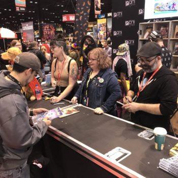 Oni Press Rick and Morty Signing at C2E2