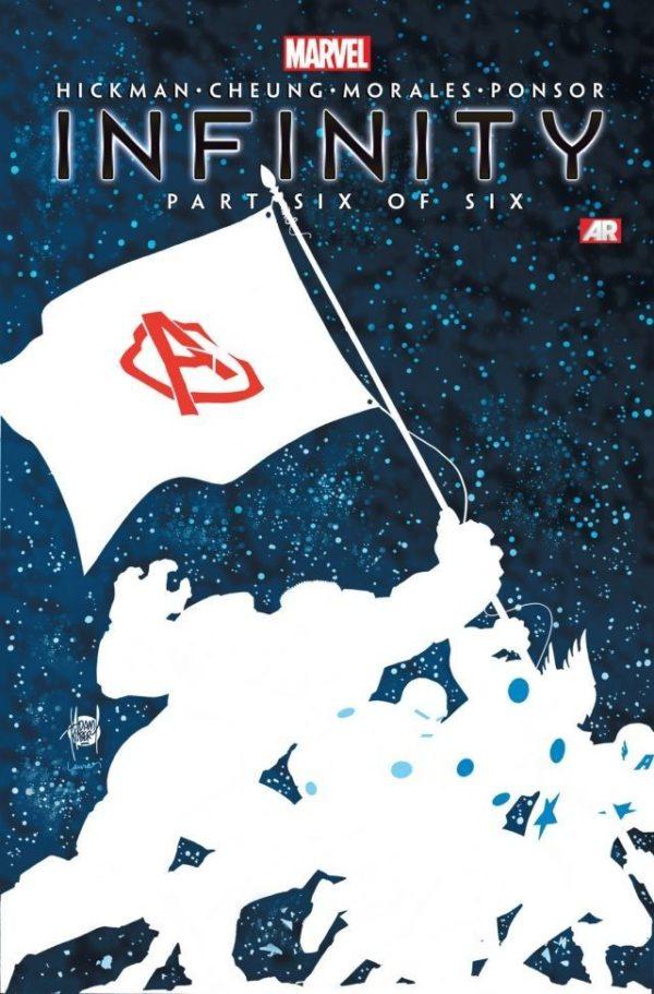 Infinity #6 cover by Adam Kubert and Laura Martin