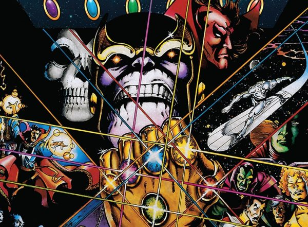 Infinity Gauntlet cover by George Perez