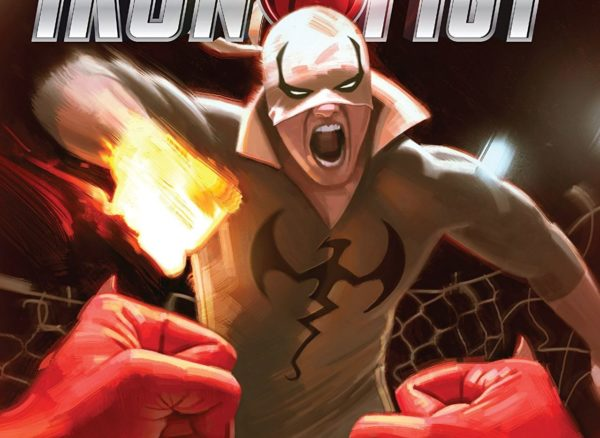 Iron Fist #79 cover by Jeff Dekal